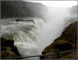 The waterfall at Gullfoss. A fine place to end a book!