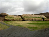 This is a recreation of Gaukur's house at Stöng. It is a few miles from the actual site.